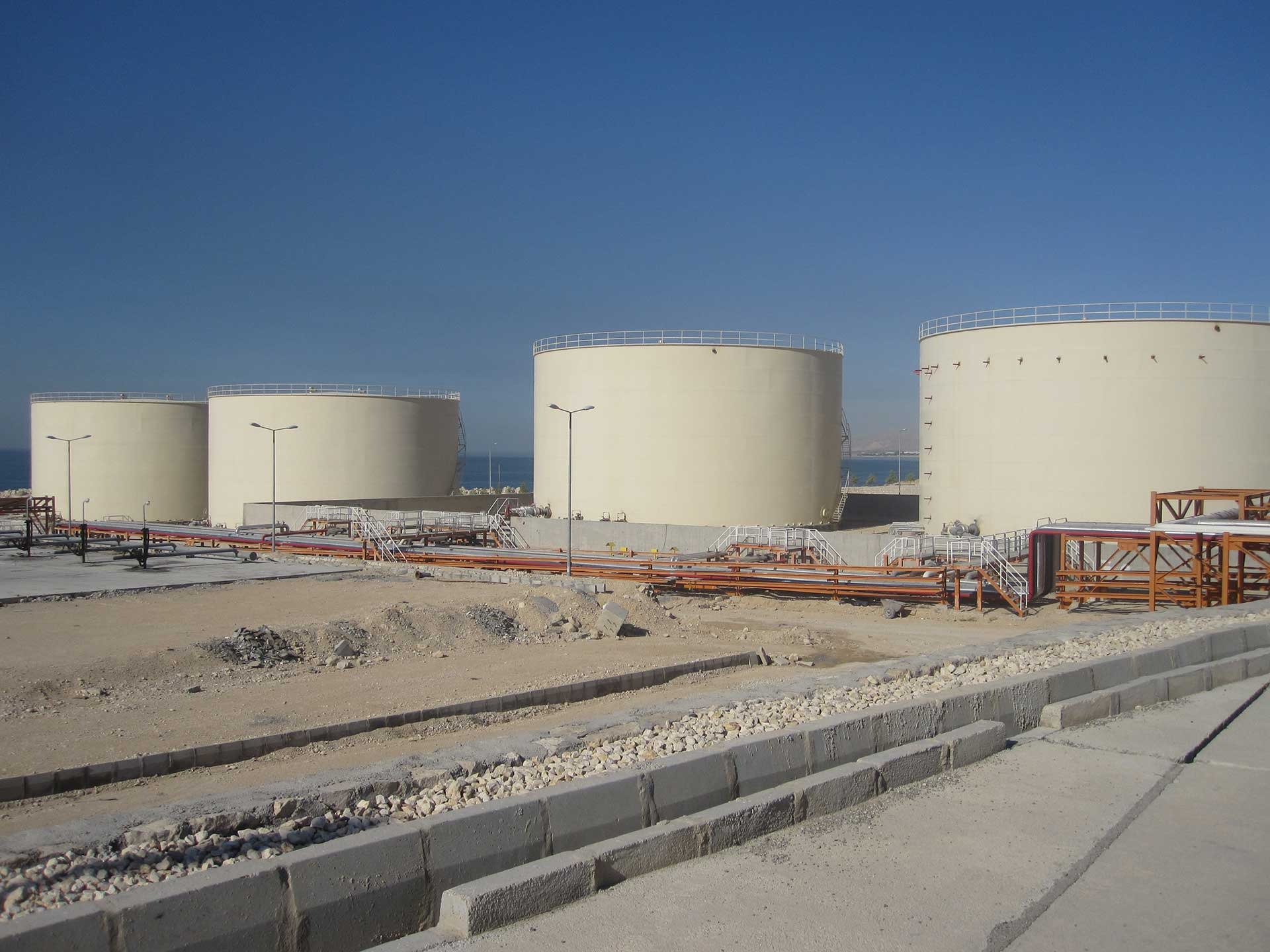 Mahshahr Oil Terminal vessel project